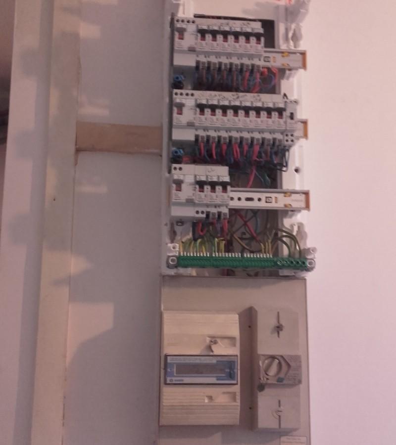 rénovation électrique totale en encastré