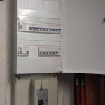 tableau électrique rénovation porte ouvete