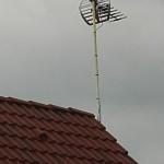 pose d'antenne télévision