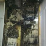 tableau électrique brulé