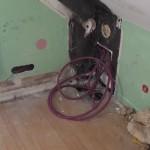 tirage de gaines électriques